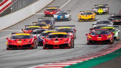 Photo of Ferrari Challenge Europe – Sartingen primo successo, Olander a sorpresa