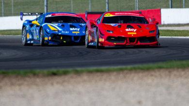 Photo of Ferrari Challenge UK – Khera e de Zille i primi vincitori a Donington