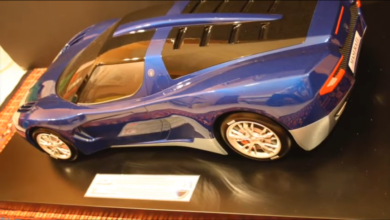 "Photo of VIDEO remembering – Maserati EVO12 ""Levante"" 2009: research project from UNIMORE"