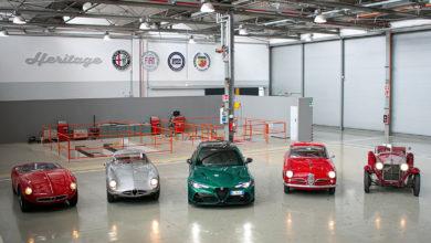 """Photo of Alfa Romeo regina della 39esima edizione storica della """"1000 Miglia"""""""