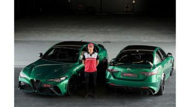 """Photo of Kimi Räikkönen certifica """"Giulia GTA"""""""