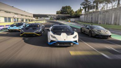 Photo of La Lamborghini Huracán STO può finalmente scatenarsi nella prima prova di guida a Roma e all'autodromo Piero Taruffi di Vallelunga
