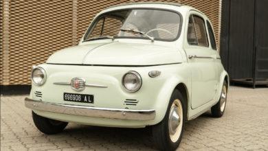 Photo of 1959 FIAT NUOVA 500 (Ruote da Sogno)