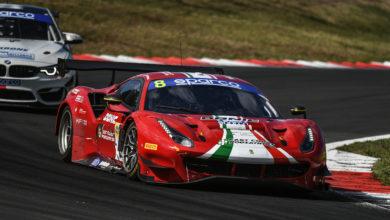 Photo of Campionato Italiano GT – Tripletta Ferrari nella GT3 Pro-Am a Vallelunga