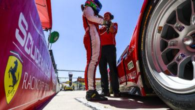 Photo of Braun e Mancinelli, insieme a Ferrari, nella IMSA GTD a Long Beach