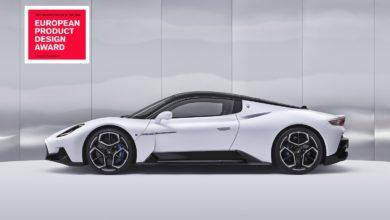 "Photo of 20 Set 2021 Aggiungi A Download  MC20 è ""Product Design of the Year"" agli European Product Design Award 2021"