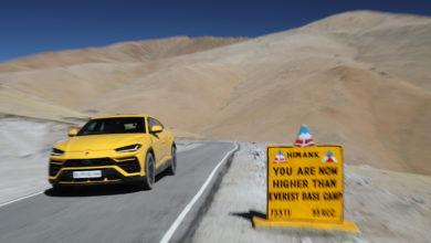 Photo of Lamborghini Urus sfida la strada motorabile più alta del mondo in India