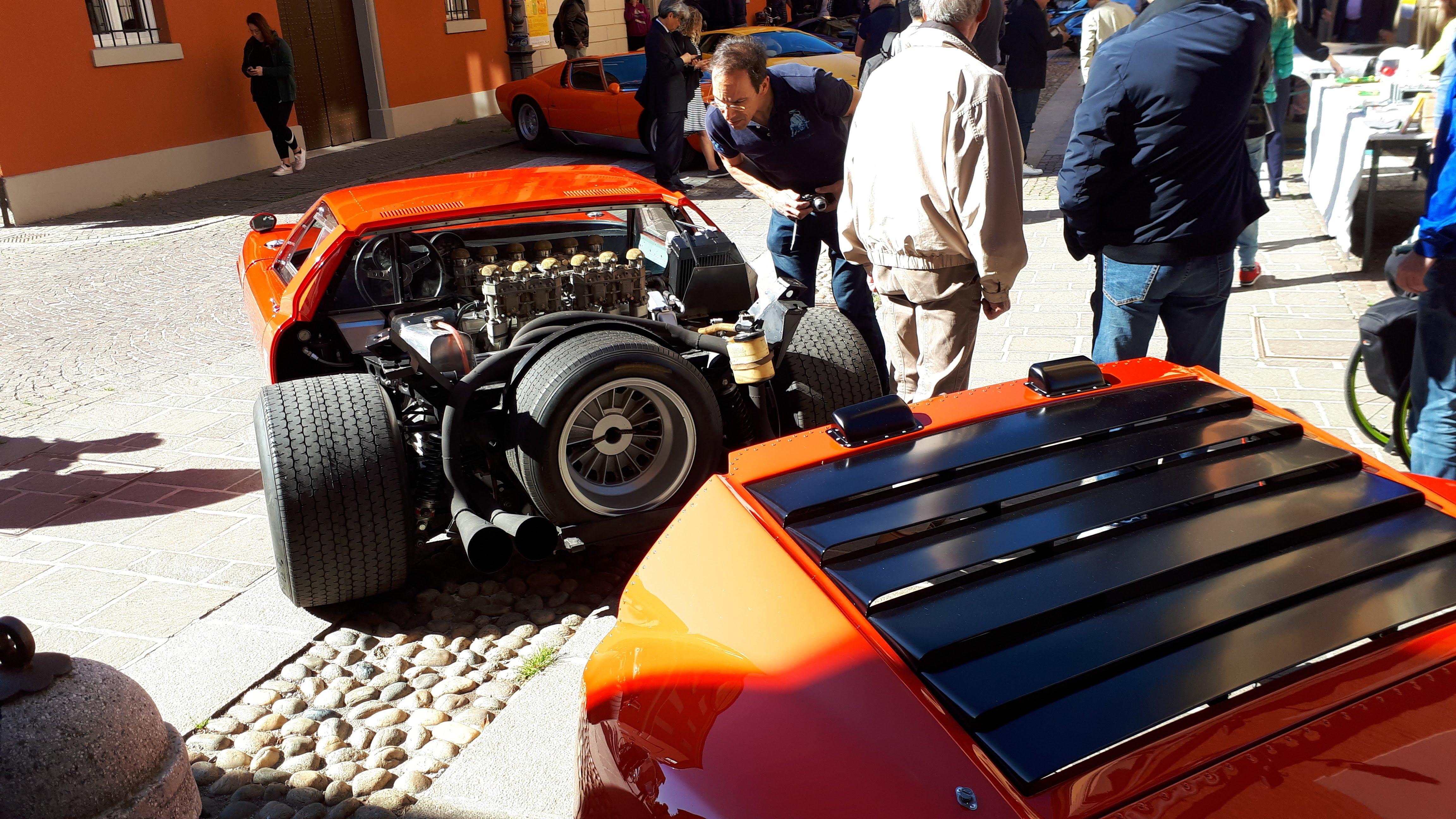 """Photo of Thank's to the """"VIA MODENA"""", four days in homage of the reconstruction of the legendary Lamborghini Miura Jota 4"""