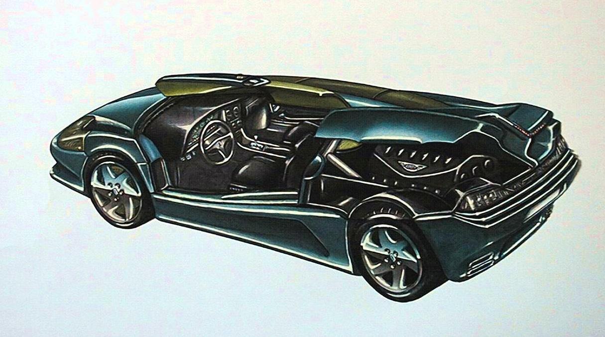 Photo of VIDEO GALLERY – Fabrizio Ferrari '90 De Tomaso design