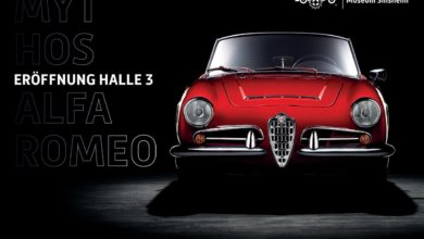 "Photo of The ""Mito Alfa Romeo"" exhibition is inaugurated at Technik Museum, Sinsheim."