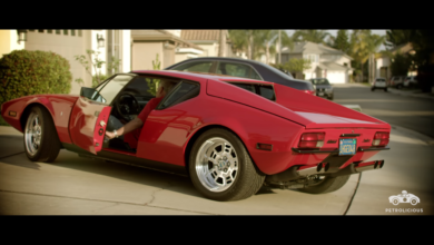 Photo of VIDEO – 1972 De Tomaso Pantera: The Company Car Of Our V8 Dreams