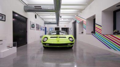 "Photo of Lamborghini brings Italian virtuosity to Art Basel Miami Beach with ""A Dreamscape of Italian Design"" – Miura Installation at Wolfsonian Museum"