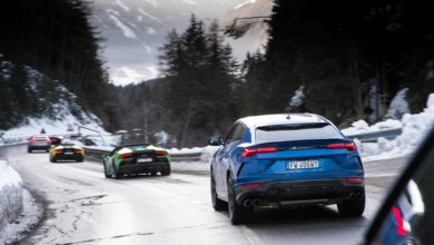 Photo of VIDEO – Lamborghini Christmas Drive