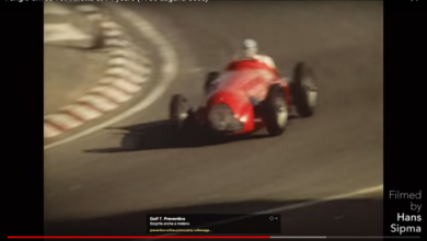 Photo of VIDEO – Fangio drives 159 Alfetta at 74 years (1985 Laguna Seca)