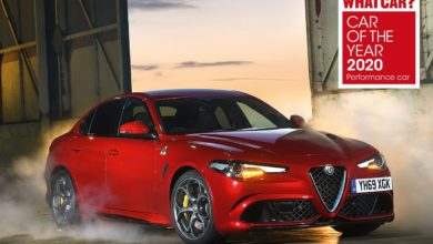 "Photo of Hat-trick for the Alfa Romeo Giulia Quadrifoglio at the ""What Car?"" magazine ""Car of the Year 2020"" awards"