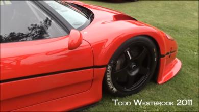 Photo of VIDEO – Ferrari F50 GT at Concorso Italiano 2011 with Start up