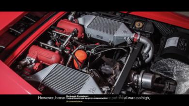 Photo of VIDEO – Evoluzione // Ferrari F40 // Studio version