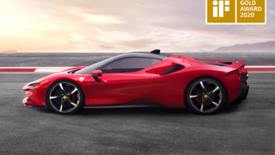 Photo of Ferrari SF90 Stradale wins the iF Design Gold Award