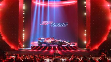 Photo of SF1000 launched in Reggio Emilia