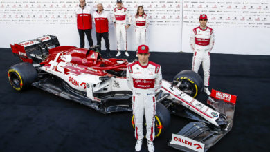 Photo of Alfa Romeo Racing ORLEN C39 unveiled in Barcelona