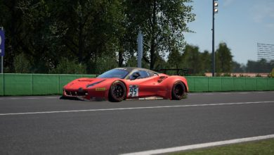 Photo of Tonizza fourth in the SRO Monza Charity Race