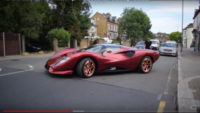Photo of VIDEO – First DeTomaso P72 on Public Roads brings traffic to a standstill *Deafening V12 Sound!*