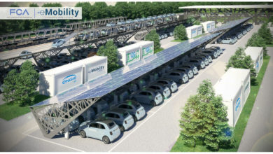 Photo of Work has begun at Mirafiori on the FCA-ENGIE Eps Vehicle-to-Grid pilot project