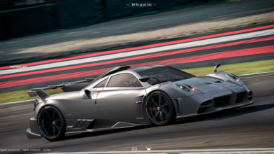 Photo of PAGANI IMOLA. Named after the racetrack on which it was modeled and fine-tuned