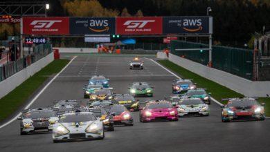 Photo of Lamborghini Super Trofeo Europe: Kangas and Nemoto claim first win in shortened Race 2 at Spa