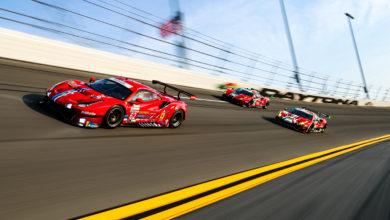 Photo of Ferrari Teams Pace GTLM, GTD sessions as Daytona Roar opens