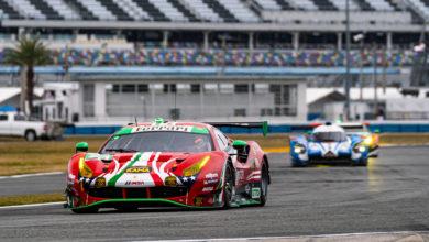 Photo of Ferraris Qualify for Special Qualifying Race in Daytona Roar