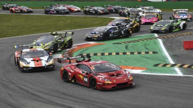 Photo of Di Folco dominates second Lamborghini Super Trofeo Europe race at Monza