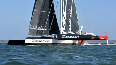 Photo of Maserati Multi 70 and Giovanni Soldini conquered the Channel Record
