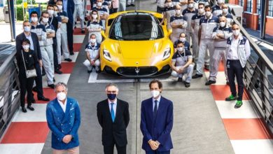 Photo of Carlo Tavares, Chairman and CEO of Stellantis, visit Maserati plant in Modena