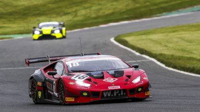 Photo of Lamborghini starts British GT title defence with victory in Brands Hatch opener