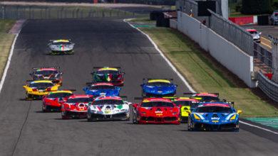 Photo of Ferrari Challenge UK – Drama unfolds at Donington Park in Race 2