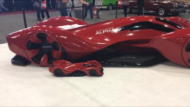 Photo of VIDEO – Auto Show Alpha Concept Car At Tulsa Auto Show
