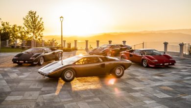 Photo of The legacy of the Lamborghini Countach in a video series. From the idea car, the LP 500 of 1971, to five generations spanning seventeen years
