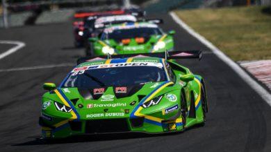 Photo of Lamborghini picks up third International GT Open win of the season and a double podium finish at the Hungaroring
