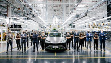 Photo of Automobili Lamborghini celebrates the 15,000th Urus