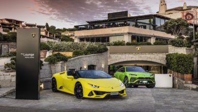 Photo of Lamborghini Lounge in Porto Cervo: exclusivity, lifestyle and product innovations, until September