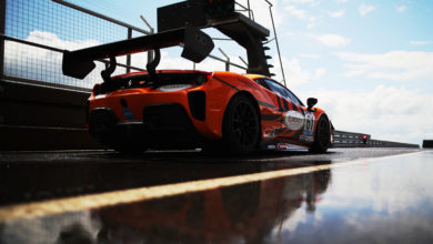 Photo of One Ferrari in GT Cup at Donington
