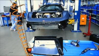 """Photo of VIDEO – Bugatti Campogalliano: """"La Fabbrica Blu"""""""